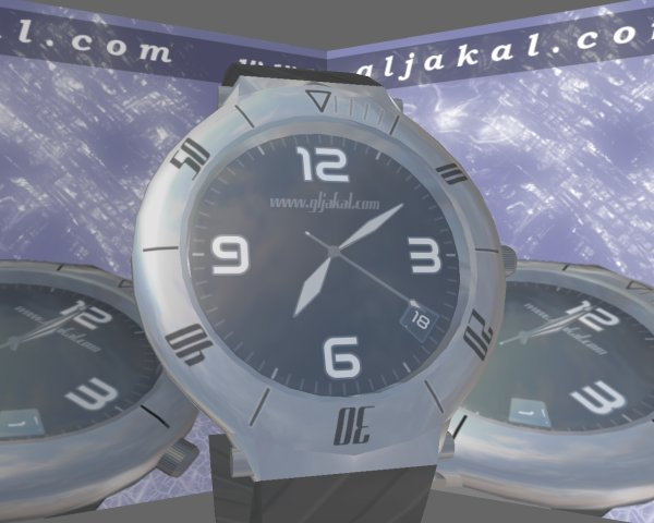3D Clock Screensaver